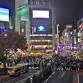写真: 渋谷スクランブル