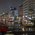 写真: 舟宿のある街