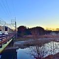 Photos: 朝焼け1453M列車
