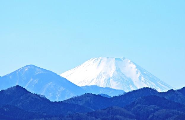 八王子から富士山