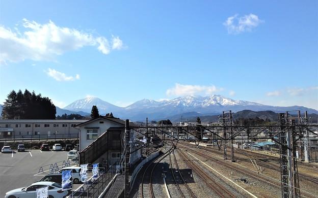 春の日光連山
