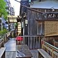 Photos: 柳の下の舟宿