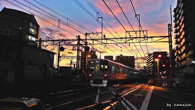 ★夕陽の家路