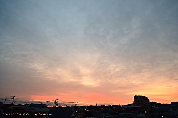 朝焼け(191103)