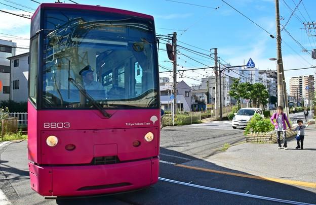 Photos: 妖怪ぬりかべ都電