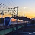 Photos: 夕焼け特急
