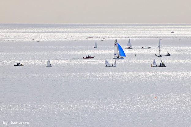 冬、江ノ島の海(1)