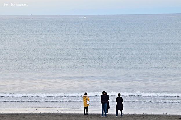 冬、江ノ島の海(2)
