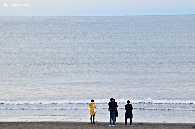 Photos: 冬、江ノ島の海(2)
