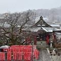 雪降る大光寺
