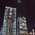 月明かりの街