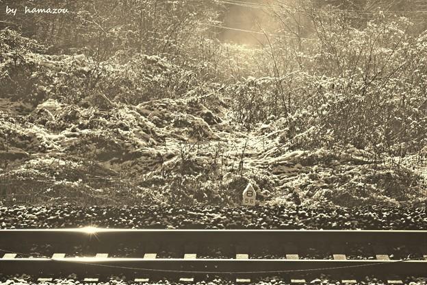 雪解け56.8Kポスト