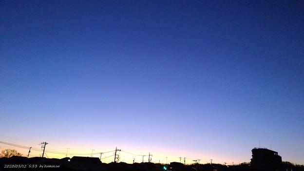 朝焼け(200312)
