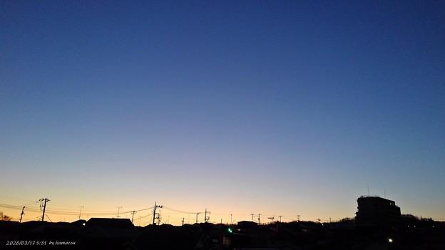 朝焼け(200317)