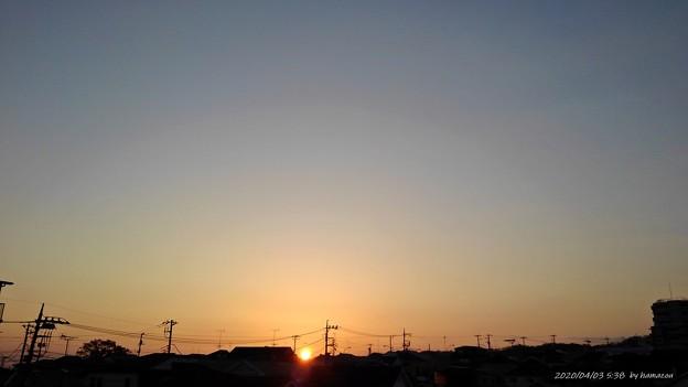 日の出(200403)