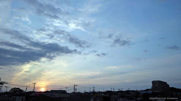 日の出(200427)