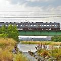 Photos: 梅雨空の河川敷