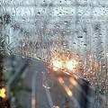 梅雨の車窓