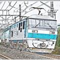 貨物列車スケッチ