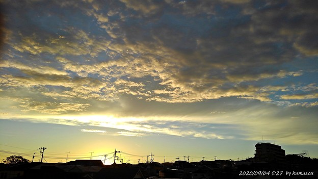 Photos: 日の出(200904)