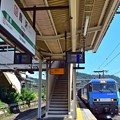 Photos: 2番線列車通過