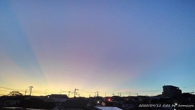 朝焼け(200911)