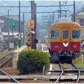 Photos: 大井川の京阪特急