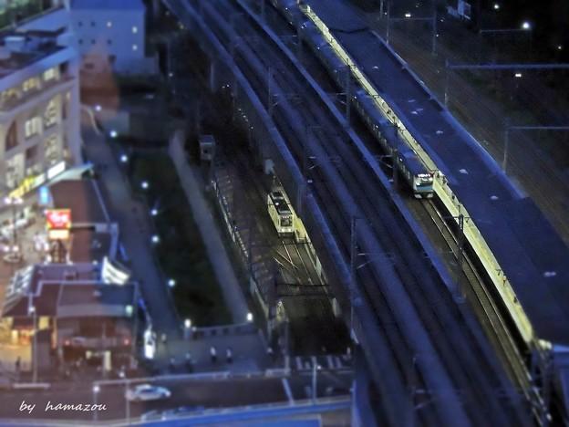 都電と京浜東北線