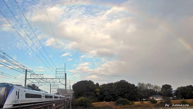 立冬、虹の架け橋