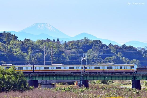 南武線から富士
