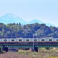 Photos: 南武線から富士