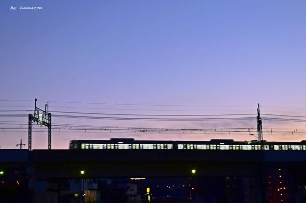 twilight after sunset