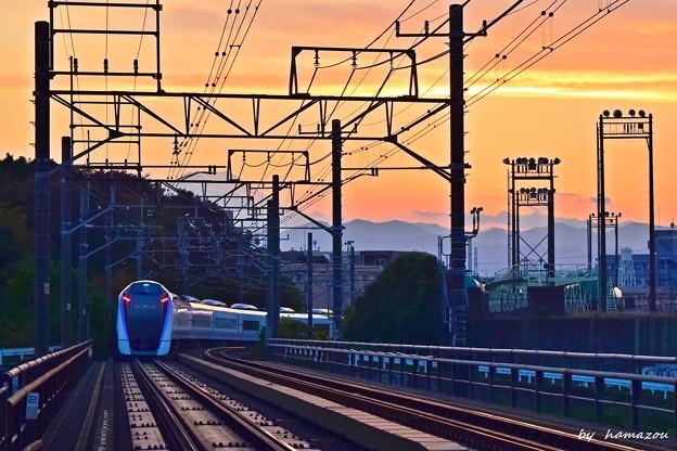 Photos: 黄昏哀愁列車