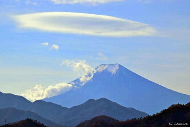 大月から富士