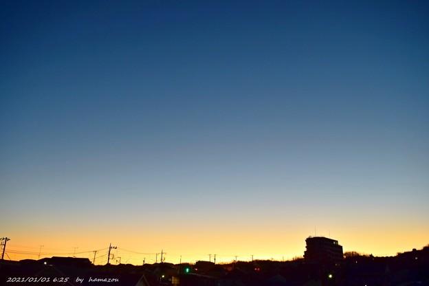 初朝焼け(210101)