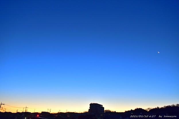 Photos: -6℃朝焼け(210110)