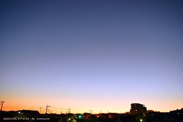 朝焼け(210119)