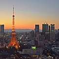 黄昏東京タワー