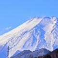 冬富士の登山道