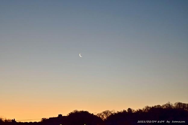 Moon twilight