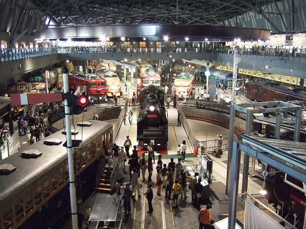 写真: 鉄道博物館 ヒストリーゾーンを望む