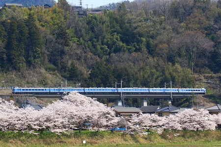 189系M50編成「ホリデー快速富士山」@藤野~上野原