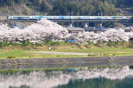 E257系「特急あずさ」@藤野~上野原