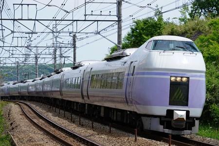 E351系 特急スーパーあずさ15号@豊田~八王子
