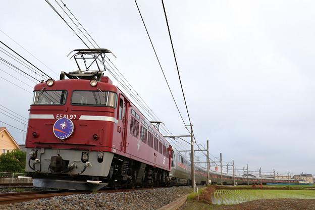 9011レ EF81-97牽引 カシオペア紀行@クリコガ