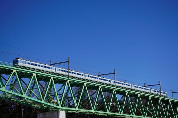 Photos: 189系M50編成ラストラン!@新桂川橋梁