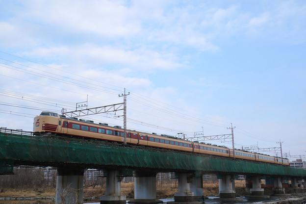 189系M51編成 ホリデー快速富士山@立川~日野