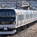 Photos: E257系団体列車@鳥沢~猿橋