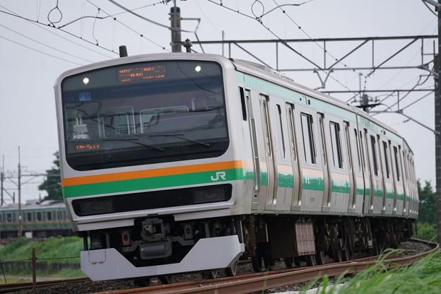 E231系@水沢踏切