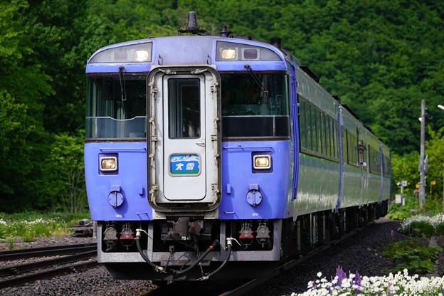 キハ183系大雪4号@白滝駅